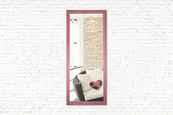 American Made Rayne Vintage Pink Full Body Mirror (V096TM or R096TM) *Suggested Retail*