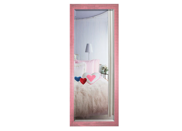 American Made Rayne Vintage Pink Slender Body Mirror (V096TS or R096TS) *Suggested Retail*