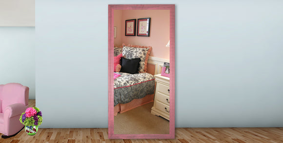 American Made Rayne Vintage Pink Tall Mirror (V096T) *Suggested Retail*