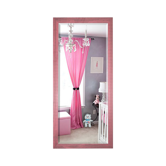 American Made Rayne Vintage Pink Beveled Tall Mirror (R096BT) *Suggested Retail*