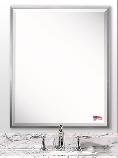 American Made Rayne Romeo Silver Sheen Wall Mirror - A004 ~Suggested Retail~