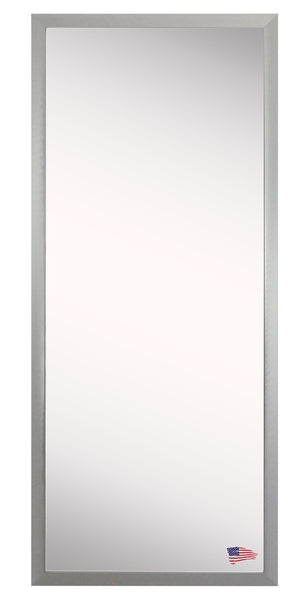 American Made Rayne Juliet Soft Silver Floor Mirror 25.5x60.5 - A007T ~Suggested Retail~