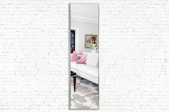 American Made Rayne Echo Polished Silver Mirror Panel (AP005) *Suggested Retail*