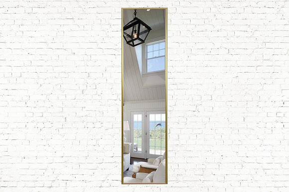 American Made Rayne Tango Polished Gold Panel Mirror (AP008) *Suggested Retail*