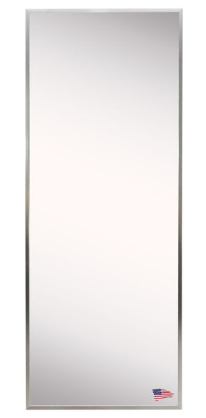 American Made Rayne Romeo Silver Sheen Floor Mirror 25x60 - A004T ~Suggested Retail~