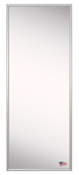 American Made Rayne Foxtrot Satin Silver Body Mirror Size 20x58 - AV006TMorA006TM ~Suggested Retail~