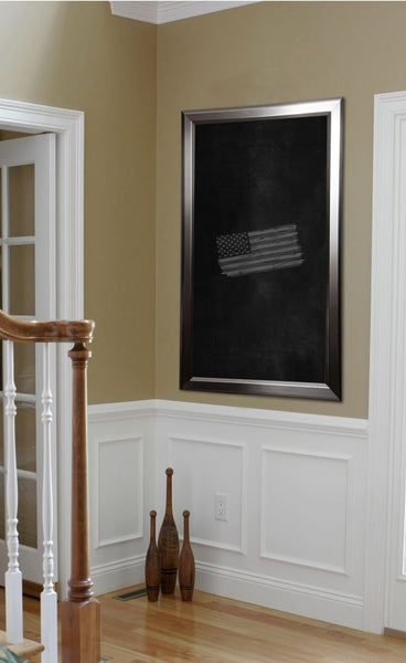 American Made Rayne Silver Rounded Blackboard/Chalkboard - B01 ~Suggested Retail~