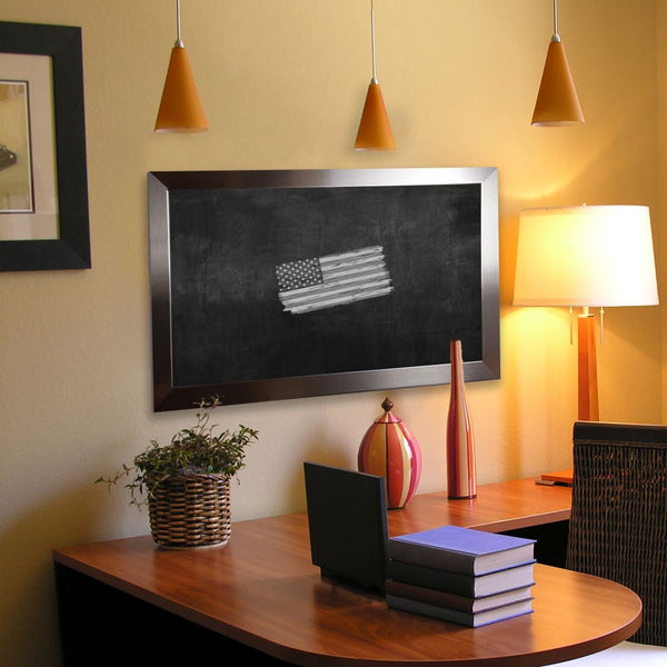 American Made Rayne Silver Petite Blackboard/Chalkboard - B02 ~Suggested Retail~