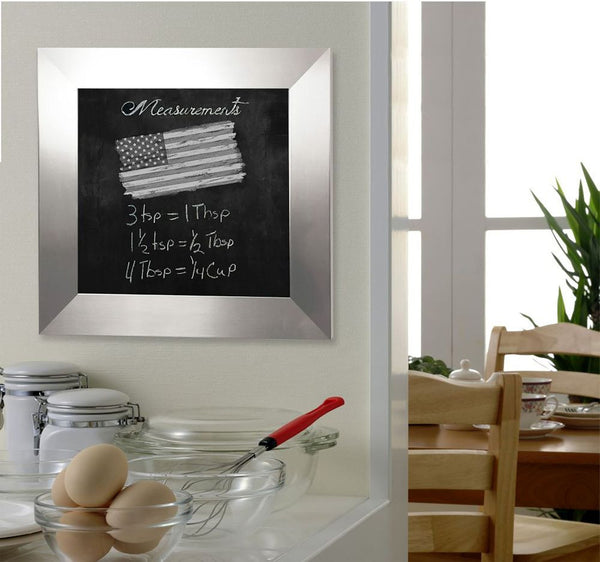 American Made Rayne Silver Wide Blackboard/Chalkboard - B03 ~Suggested Retail~