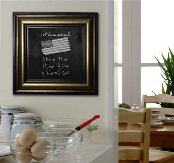American Made Rayne Stepped Antiqued Blackboard/Chalkboard - B07 ~Suggested Retail~
