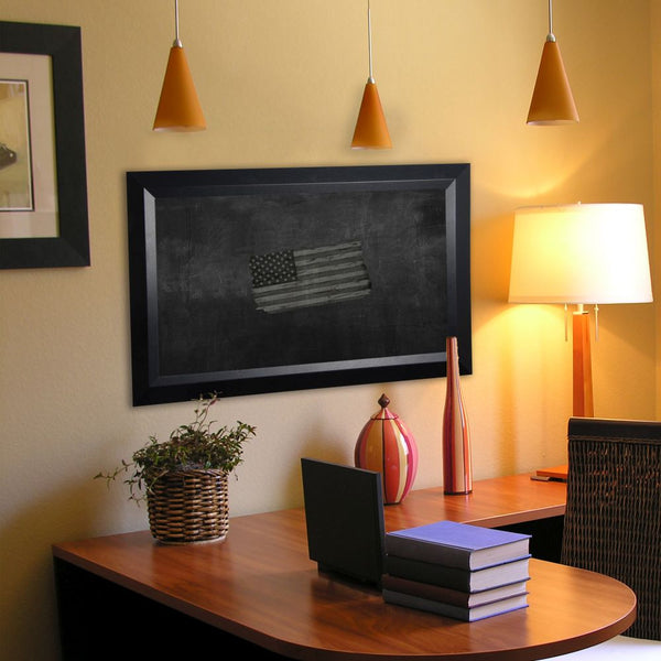 American Made Rayne Solid Black Angle Blackboard/Chalkboard - B09 ~Suggested Retail~