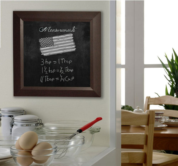 American Made Rayne Dark Walnut Blackboard/Chalkboard - B16 ~Suggested Retail~