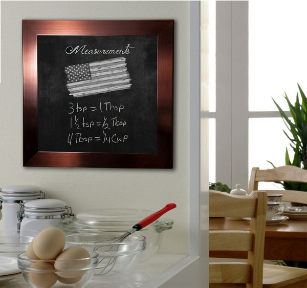 American Made Rayne Shiny Bronze Blackboard/Chalkboard - B20 ~Suggested Retail~