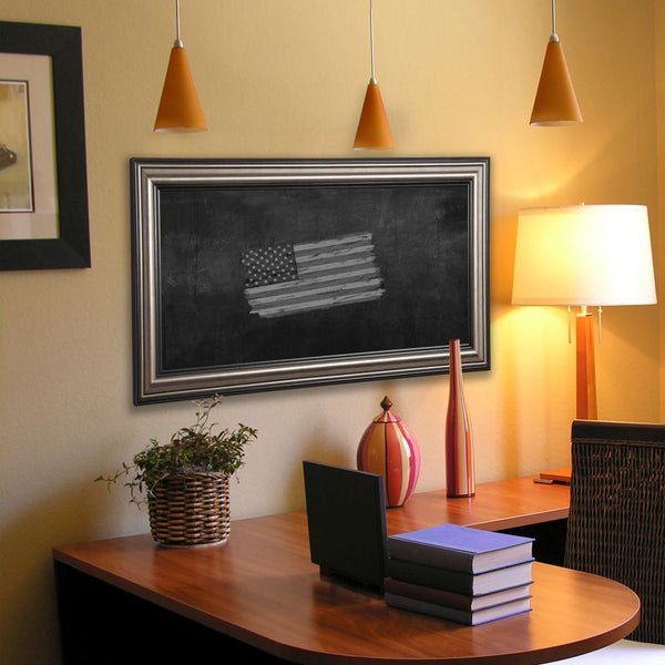 American Made Rayne Antique Silver Blackboard/Chalkboard - B28 ~Suggested Retail~