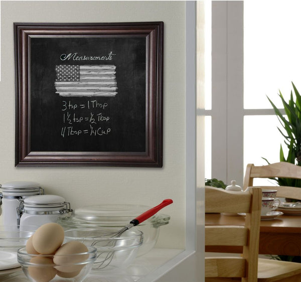 American Made Rayne American Walnut Blackboard/Chalkboard - B30 ~Suggested Retail~