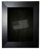 American Made Rayne Black Wide Leather Blackboard/Chalkboard - B37 ~Suggested Retail~