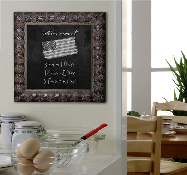 American Made Rayne Feathered Accent Blackboard/Chalkboard - B49 ~Suggested Retail~