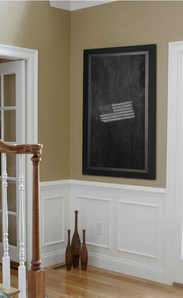American Made Rayne Attractive Matte Black Blackboard/Chalkboard - B53 ~Suggested Retail~