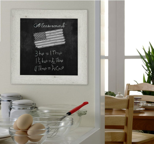 American Made Rayne White Washed Antique Blackboard/Chalkboard - B59 ~Suggested Retail~