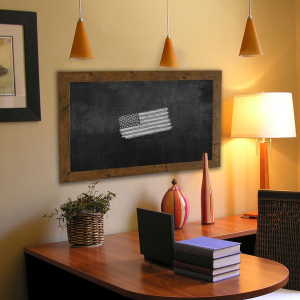 American Made Rayne Rustic Light Walnut Blackboard/Chalkboard - B62 ~Suggested Retail~