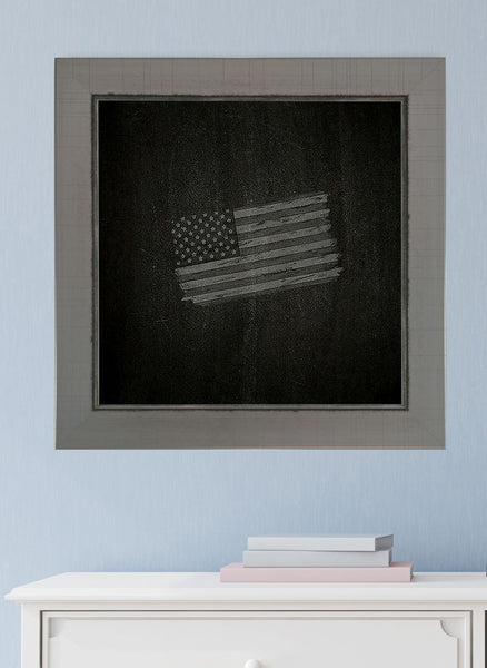 American Made Rayne Silver Swift Blackboard/Chalkboard - B83 ~Suggested Retail~