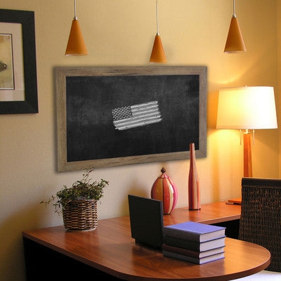 American Made Rayne Barnwood Brown Blackboard (B63) *Suggested Retail*