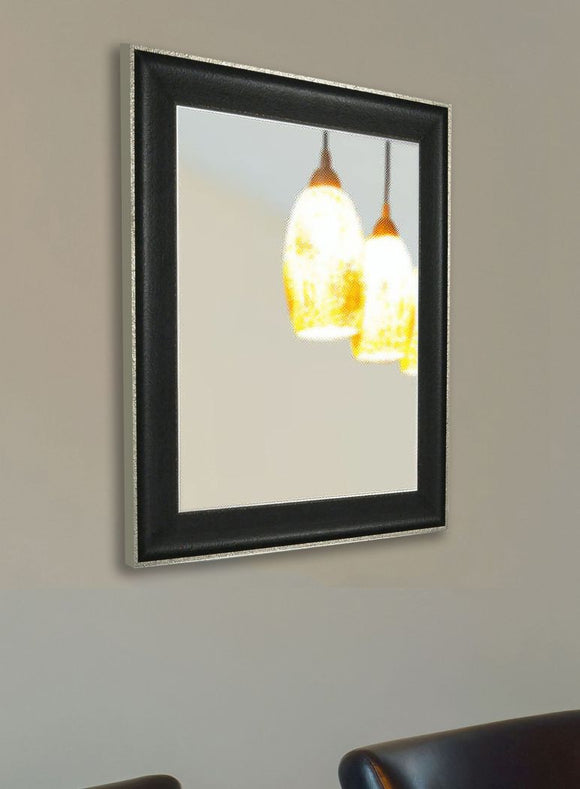 American Made Rayne Vintage Black Wall Mirror (V058) *Suggested Retail*
