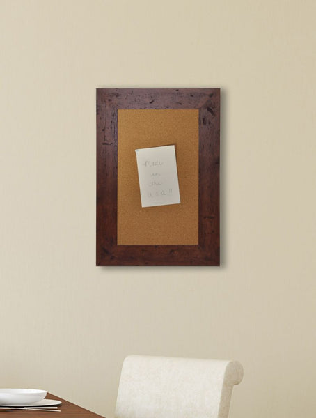 American Made Rayne Rustic Dark Walnut Corkboard - C61 ~Suggested Retail~