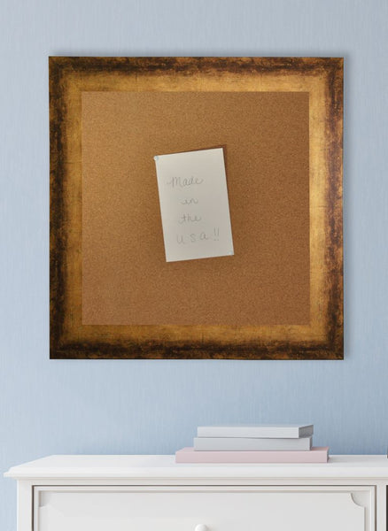 American Made Rayne Tarnished Bronze Corkboard - C67 ~Suggested Retail~