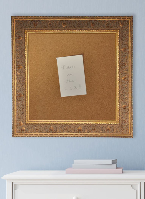 American Made Rayne Opulent Gold Corkboard (C71) *Suggested Retail*