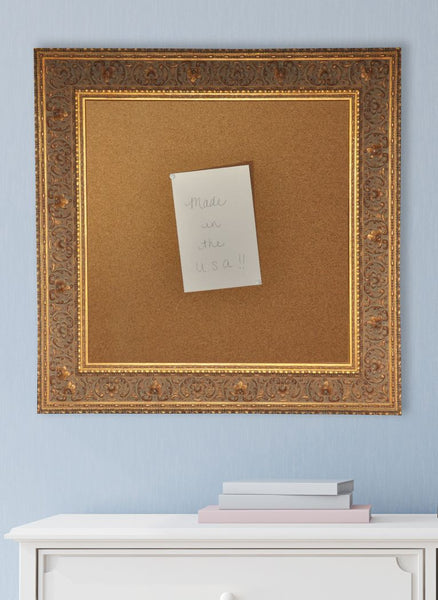 American Made Rayne Opulent Gold Corkboard - C71 ~ Suggested Retail ~