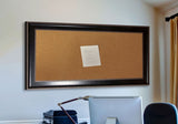 American Made Rayne Black With Silver Trim Corkboard (C08) *Suggested Retail*