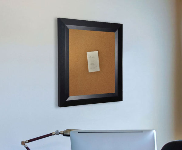 American Made Rayne Solid Black Angle Corkboard - C09 ~Suggested Retail~