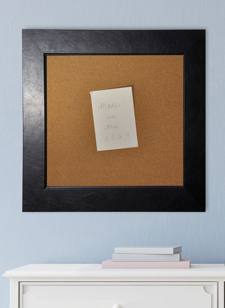 American Made Rayne Black Superior Corkboard - C12 ~Suggested Retail~