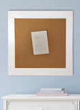 American Made Rayne Glossy White Corkboard (C21) *Suggested Retail*