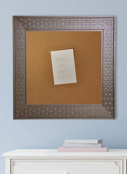 American Made Rayne Espresso Bricks Corkboard - C26 ~Suggested Retail~