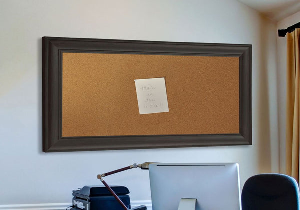 American Made Rayne Brazilian Walnut Corkboard - C32 ~Suggested Retail~