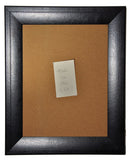 American Made Rayne Stitched Black Leather Corkboard (C38) *Suggested Retail*