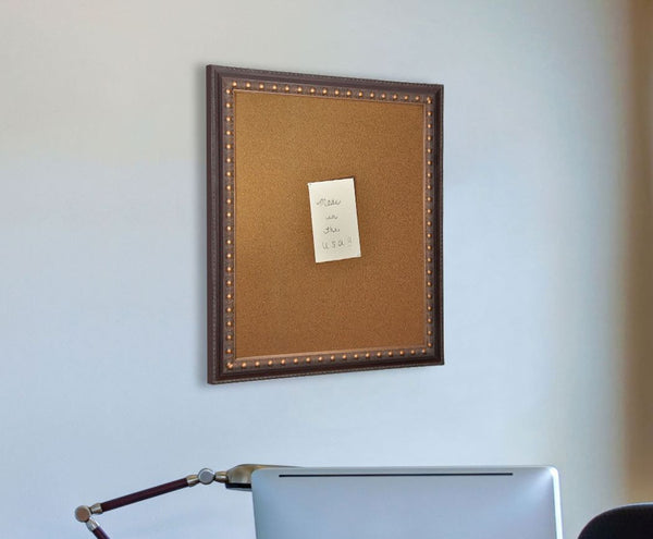 American Made Rayne Traditional Cameo Bronze Corkboard - C42 ~Suggested Retail~