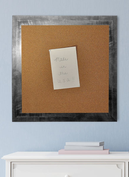 American Made Rayne Black Smoke Corkboard - C45 ~Suggested Retail~