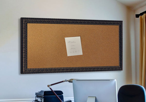 American Made Rayne Dark Embellished Corkboard - C51 ~Suggested Retail~
