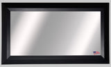 American Made Rayne Solid Black Angle Double Vanity Mirror - DV009 ~Suggested Retail~