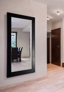 American Made Rayne Black Superior Double Vanity Wall Mirror (DV012) *Suggested Retail*