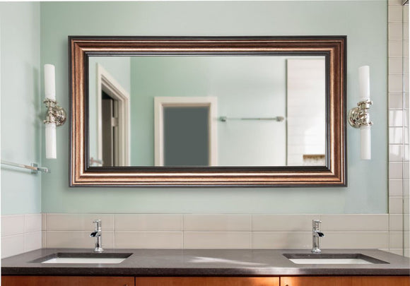 American Made Rayne Canyon Bronze Double Vanity Wall Mirror (DV028) *Suggested Retail*
