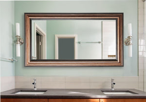 American Made Rayne Canyon Bronze Double Vanity Mirror (DV029) *Suggested Retail*