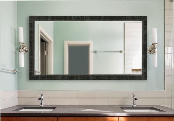 American Made Rayne Tuscan Ebony Double Vanity Mirror (DV048) *Suggested Retail*