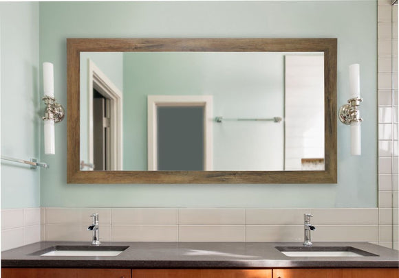 American Made Rayne Brown Barnwood Extra Large Mirror - DV063 ~Suggested Retail~