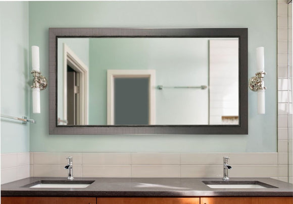 American Made Rayne Silver Swift Double Vanity Mirror (DV083) *Suggested Retail*