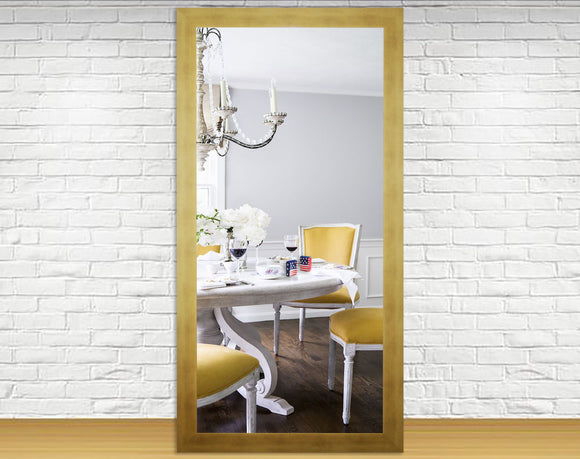US Made Hushed Golden Sunset Double Vanity Wall Mirror - DV094 ~Suggested Retail~