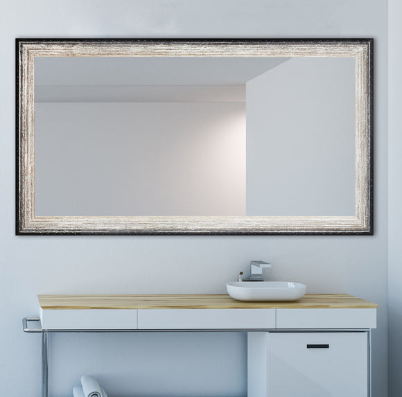 American Made Rayne Brown Brushed Double Vanity Mirror (DV108) *Suggested Retail*